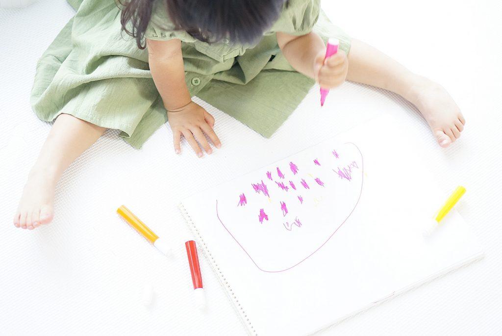 お絵描き用紙