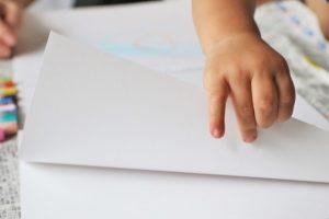 大きな白い紙の無料配布を継続いたします