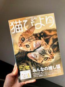 雑誌「猫びより」にご紹介いただきました